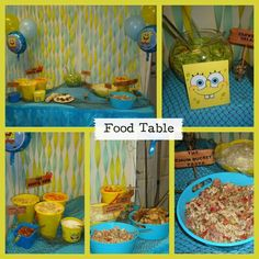 Spongebob Square Pants Birthday Party Ideas | Photo 2 of 14 | Catch My Party