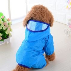 Raincoats For Women April Showers Dog Raincoat, Yellow Raincoat, Hooded Raincoat, Little Dogs, Big Dogs, Small Dogs, Funny Dogs, Cute Dogs