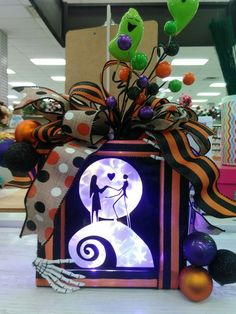 nightmare before christmas glass block by tea in our yorktown va store visit your local ac moore store to find more designer floral inspiration glass