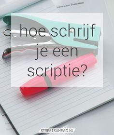 scriptie tips