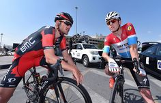 Jempy Drucker and Bob Jungels at Tour of Oman 2016