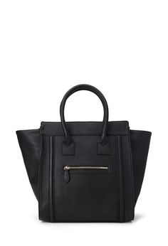 Celine -like Zippered Faux Leather Satchel from forever21 #Accessories #Handbag