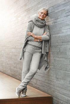 fashionable woman at 50 estilo n o depende da idade pinterest 50 mode pantalons et. Black Bedroom Furniture Sets. Home Design Ideas