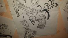 #gun #tribal #pinupgirl #hellokitty #tattooideas