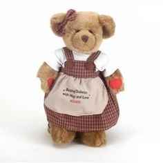 Ruby The Bear With Diabetes (Large)