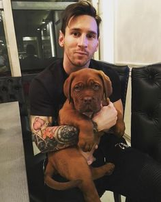 Meet the new member of Lionel Messi's family!