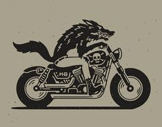 Biker Tattoos, Motorcycle Tattoos, Pin Up Motorcycle, Traditional Black Tattoo, Rockabilly Art, Norse Tattoo, Tattoo Stencils, Art Poses, American Traditional