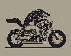 Biker Tattoos, Motorcycle Tattoos, Leg Tattoos, Black Tattoos, Small Tattoos, Pin Up Motorcycle, Traditional Black Tattoo, Rockabilly Art, Tattoo Stencils