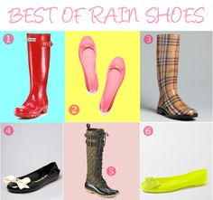Best of Rain Shoes   MariaOnPoint
