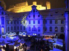 Weihnachtsmarkt in Füssen im #Allgaeu #Bayern