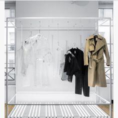 colette 認証済み for in store & online Pop Design, Display Design, Store Design, Rack Design, Maison Rabih Kayrouz, Joseph Fashion, Retail Fixtures, Clothing Displays, Architecture Design