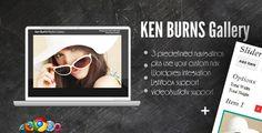 Ken Burns Media Gallery + CMS