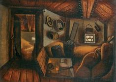 Hudeček František | Stará sýpka, 1941 | Figure Painting, Illustration Art, Illustrations, Prague, Impressionism, Fine Art, Sketchbooks, Artist, Surrealism