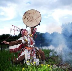 An Evenki dancer for a religious ceremony Larp, Shaman Ritual, Traditional Witchcraft, Mask Dance, Native American Quotes, Inspirational Artwork, Drawing Skills, Traditional Art, Magick