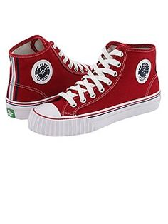 PF Flyers. These red ones are so cute! Already bought a pair. I really should of got these! They are all cute though, so I will think about it next time. I will buy them.... -_- I cannot believe I haven't known about these. Shame on me. Follow one of my friends who got me into these PF Flyers! Guaranteed to make somebody run faster & jump higher! @BethanyJablon