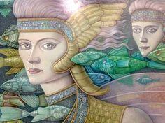 HERNAN VALDOVINOS Meditation Techniques, Spiritual Growth, Mythology, Spirituality, Fox, Princess Zelda, Crafty, Creative, Fictional Characters