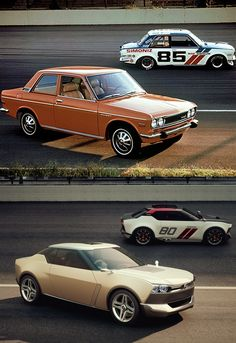 Nissan IDx concepts and their inspirations...ummm YES pls