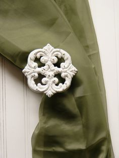 Curtain Tie Back Choose your Color Curtain by ColorfulCastAndCrew