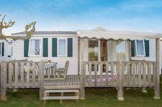 Camping Atlantic Club Montalivet - Maeva Camping - Mobil Home Cozy Plus 4 Rooms 6 People Air Conditioned - Vendays-Montalivet Van Camping, Best Resume, Mobile Home, Location, Ideal Home, Pergola, Condo, Indoor, Sun