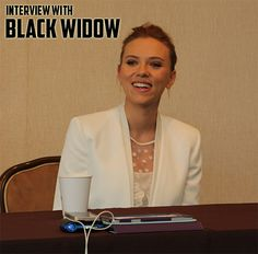 Interview With Scarlett Johansson, Marvel's BLACK WIDOW – #CaptainAmericaEvent