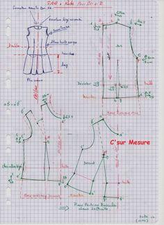 patron couture gratuit robe chasuble femme 3 couture v tements pinterest caftans patron. Black Bedroom Furniture Sets. Home Design Ideas