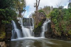 John Campbell -  Waterfall, Penllergare Valley Woods, Swansea, South Wales Swansea Bay, Wales Map, John Campbell, South Wales, Most Beautiful, Places To Visit, Earth, Adventure, Welsh