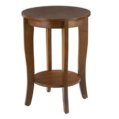 End Table Espresso Brown, Accent Tables