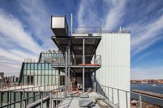 """The New Yorker on The Whitney Museum's New Building on the Highline: """"Its collection of American art, installed in fifty thousand square feet of sun-soaked galleries, has never looked better."""" Photo by Richard Barnes via Tumblr."""