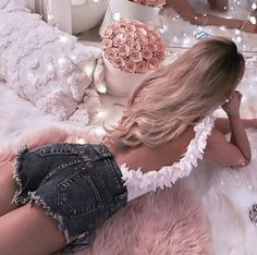 Image about girl in Beautiful/Feminine/Relax/Performance by Kristaq Riste Lico Girl Outfits, Cute Outfits, Fashion Outfits, Womens Fashion, Fashion Trends, 90s Fashion, Foto Pose, Pink Princess, Girly Girl