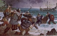 "On June 8th 793, in an unprecedented attack which shocked the whole of Europe, a raiding party of Vikings from Norway attacked Lindisfarne. Monks fled in fear and many were slaughtered. Bishop Higbald sought refuge on the mainland and a chronicler recorded- ""On the 8th June, the harrying of the heathen miserably destroyed God's church by rapine and slaughter. ""  For seven decades the Vikings would continue raiding the coast of Britain."