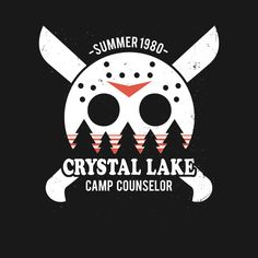 CRYSTAL LAKE CAMP COUNSELOR T-Shirt - Friday the 13th T-Shirt is $11 today at TeeFury!