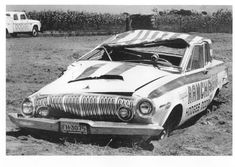 Vintage Drag Racing - RAMCHARGERS destroyed