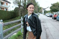viewbyKandF: The (Faux) Leather Skirt