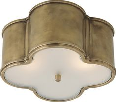 quatrefoil ceiling light