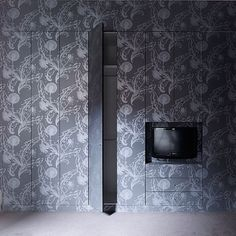 You can tell by this television that it's Throwback Thursday. This funky detail for wallpaper covered joinery was done in the Richardson Street Residence completed by B.E Architecture in 2002
