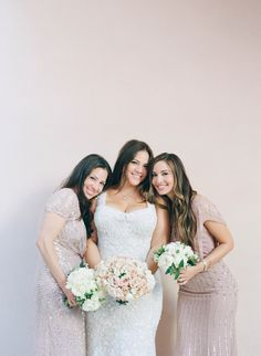 Photography : Elizabeth Messina Read More on SMP: http://www.stylemepretty.com/2017/02/23/the-perfect-recipe-for-an-elegant-bel-air-wedding/