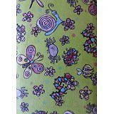 Cute Little Critters~Cuddle Print Cotton Flannel Fabric~by Fabri-Quilt