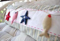 pillow with ... marina