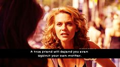 I was so proud of P. Sawyer in this moment!