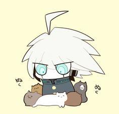 Kitties like the Kiibo New Danganronpa V3, Danganronpa Characters, Pink Blood, Crime, Otaku, And So It Begins, Fandom, Game Art, Vocaloid