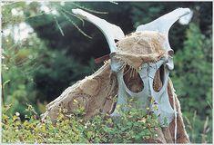 John Howe :: Illustrator Portfolio :: Home / From Hobbiton to Mordor / Cards and Such / Balrog Celtic Circle, John Howe, Balrog, Dark Mori, Dark Forest, Larp, Garden Sculpture, Medieval, Owl