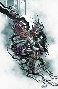Dark Tattoo S Dark Art Gothic Fairies Faerie Gothic Fairy Tattoo Tattoo Studio, Tattoo Deus, Yakuza Tattoo, Elfen Tattoo, Gothic Fairy Tattoo, Fairy Sketch, Evil Fairy, Fairy Drawings, Pencil Drawings