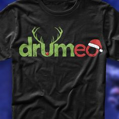 Design An Awesome Christmas T-Shirt for Drumeo by Alex Lalove
