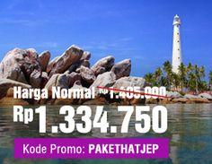 Hatjep - Promo Tiket Murah, Hotel Murah untuk Libur Panjang #beltong #belitung #package #tour #indonesia #travel