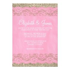 This DealsPink Rustic Lace Wedding Invitations Personalized InvitationsWe have the best promotion for you and if you are interested in the related item or need more information reviews from the x customer who are own of them before please follow the link to see fully reviews