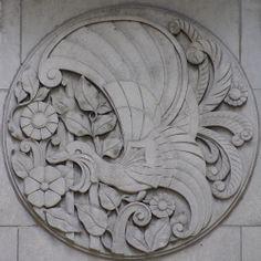 Detail, Wacker Tower, Chicago, Illinois
