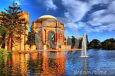 HDR of Palace of Fine Arts, San Francisco