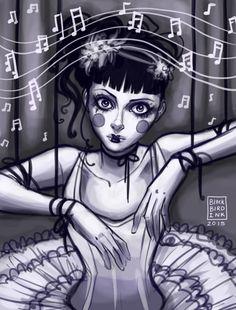Zuzana's Dance by BlackBirdInk on DeviantArt