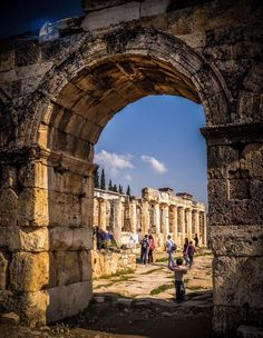 Heriapolis – Denizli – Turkey Copyright 2013 © Cornea – hakan pişgin – Join the world of pin Pamukkale, Cultural Architecture, Ancient Architecture, Vacation Places, Vacation Destinations, World's Most Beautiful, Beautiful Places, Belle Villa, Most Visited