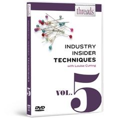 Threads Industry Insider Techniques DVD, Vol. 5